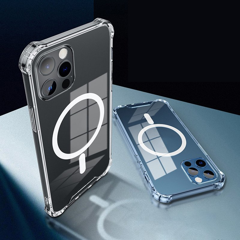 quality clear iphone cases with magnet for 12, wholesale