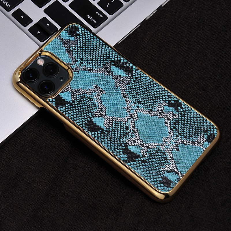 bulk custom iphone case in genuine cowhide leather- animal print
