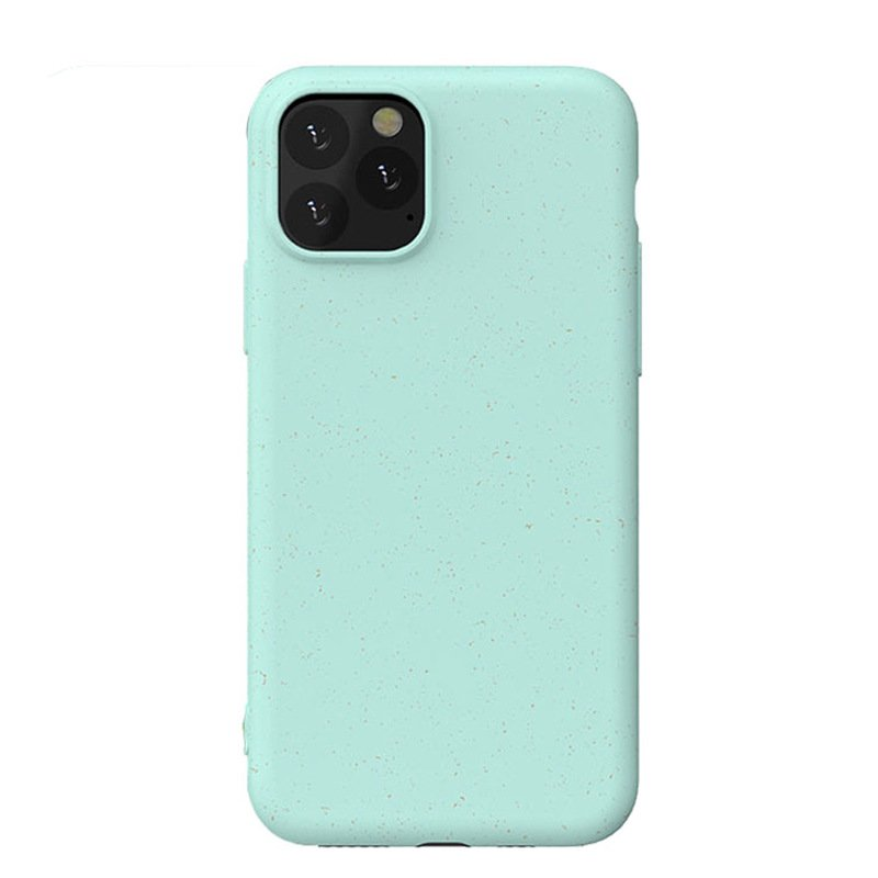 100% biodegradable cell phone iphone cases bulk wholesale custom- light green