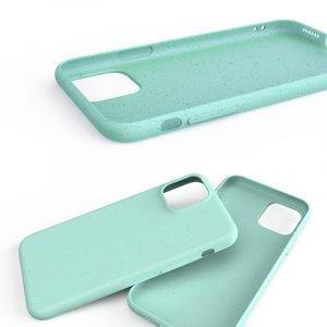 biodegradable cell phone covers for bulk custom and wholesale, light green / blue - lovingcase