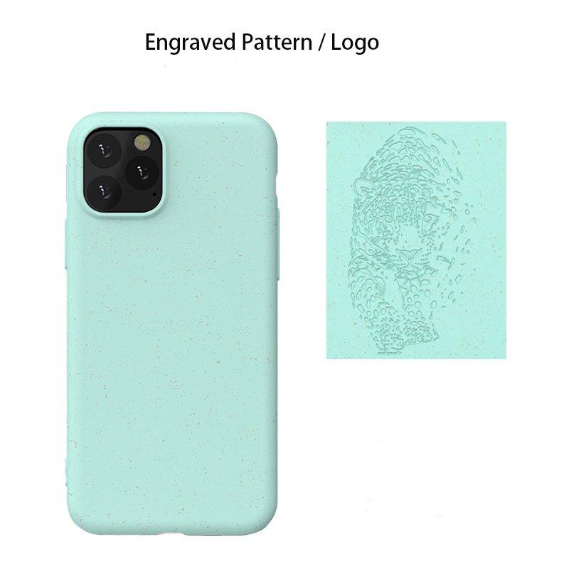 bulk custom biodegradable cell phone covers with straw fiber, wholesale bulk custom