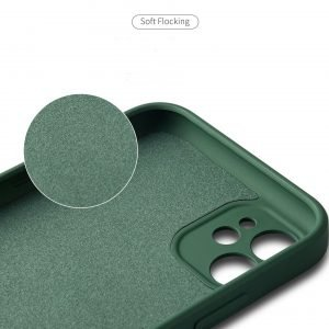 bulk buy faux liquid silicone case with magnet ring stand-red bulk wholesale and custom, lovingcase supplier