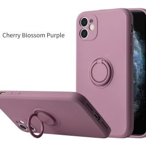 cell phone silicone case with mount ring stand - wholesale supplier, lovingcase
