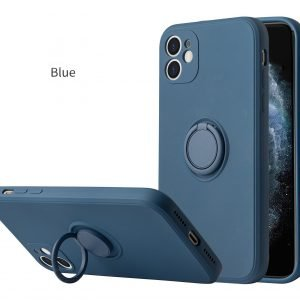 navy silicone iphone cases, 12 pro max, mount ring holder, wholesale supplier