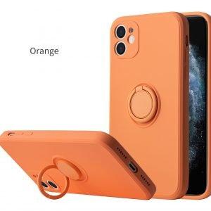 orange silicone iphone cases wholesale supplier, lovingcase