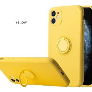 yellow iphone covers in quality silicone (faux), cheap value case, wholesale supplier