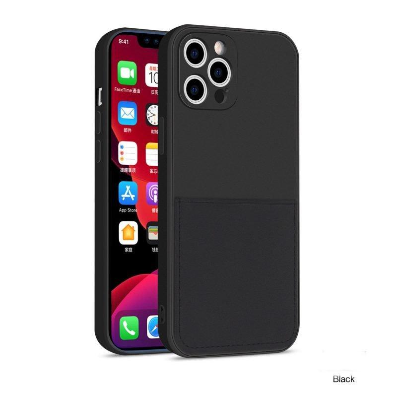 faux liquid silicone iphone case with wallet - bulk wholesale vendor, uk