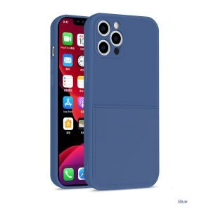 faux liquid silicone iphone case with wallet - bulk wholesale and custom supplier, lovingcase