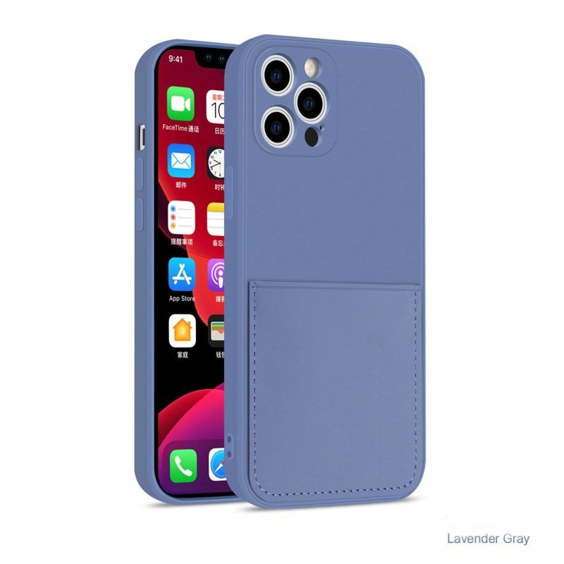 faux liquid silicone iphone case with wallet -wholesale and bulk custom, supplier, lovingcase