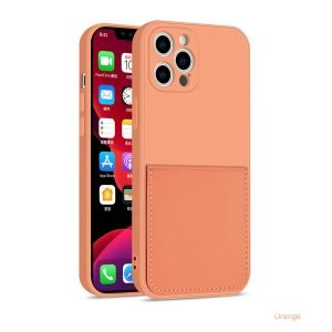 faux liquid silicone iphone case with wallet -wholesale supplier lovingcase