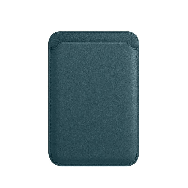 magnetic card holder for cell phone, iphone wholesale custom- dark night green