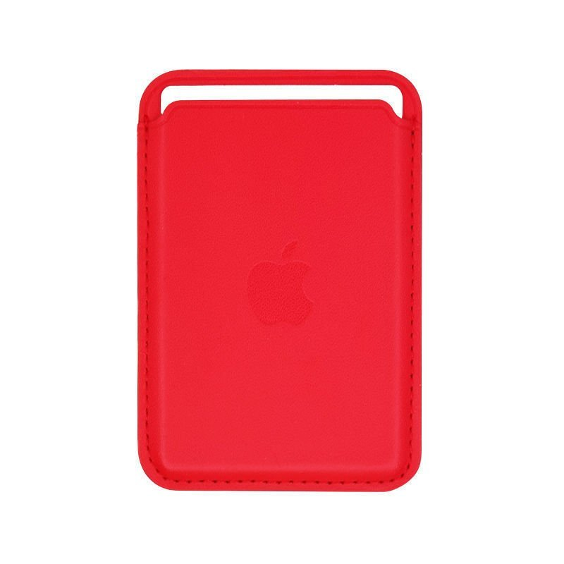magnetic card holder for cell phone, iphone wholesale custom red