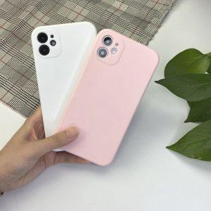 faux liquid silicone cover, iphone 12 pro max / wholesale custom