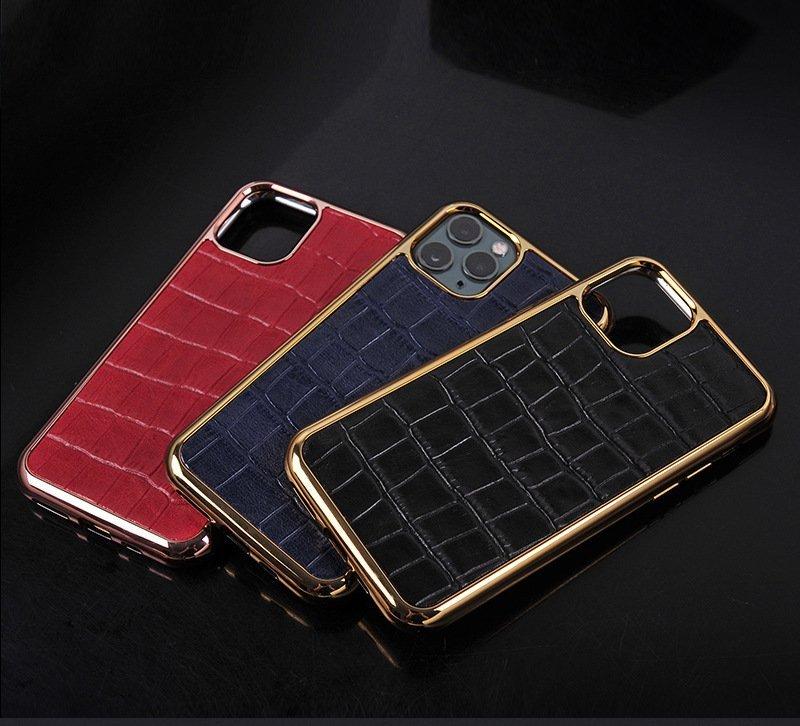 real leather in crocodile pattern iphone case, wholesale custom, lovingcase