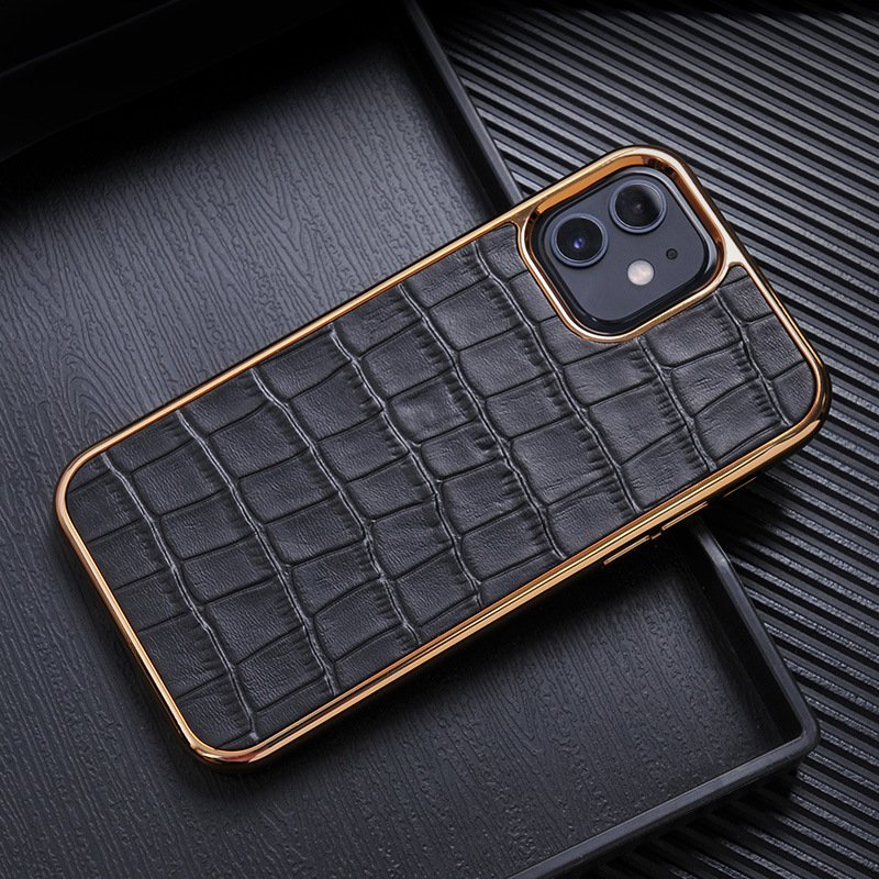 black real leather cell phone covers, lovincase wholesale