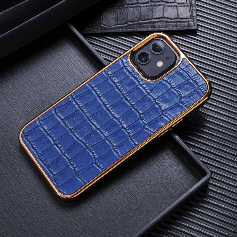 blue real leather cell phone covers, lovincase wholesale bulk, lovingcase