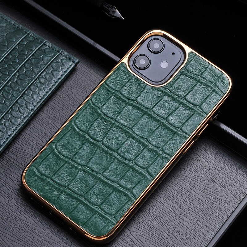 green real leather cell phone covers, lovincase wholesale