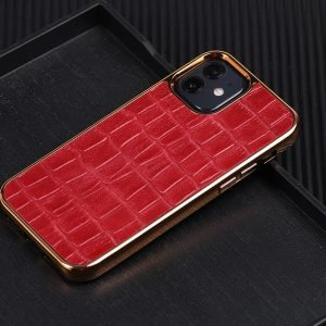 red real leather cell phone covers, lovincase wholesale bulk custom