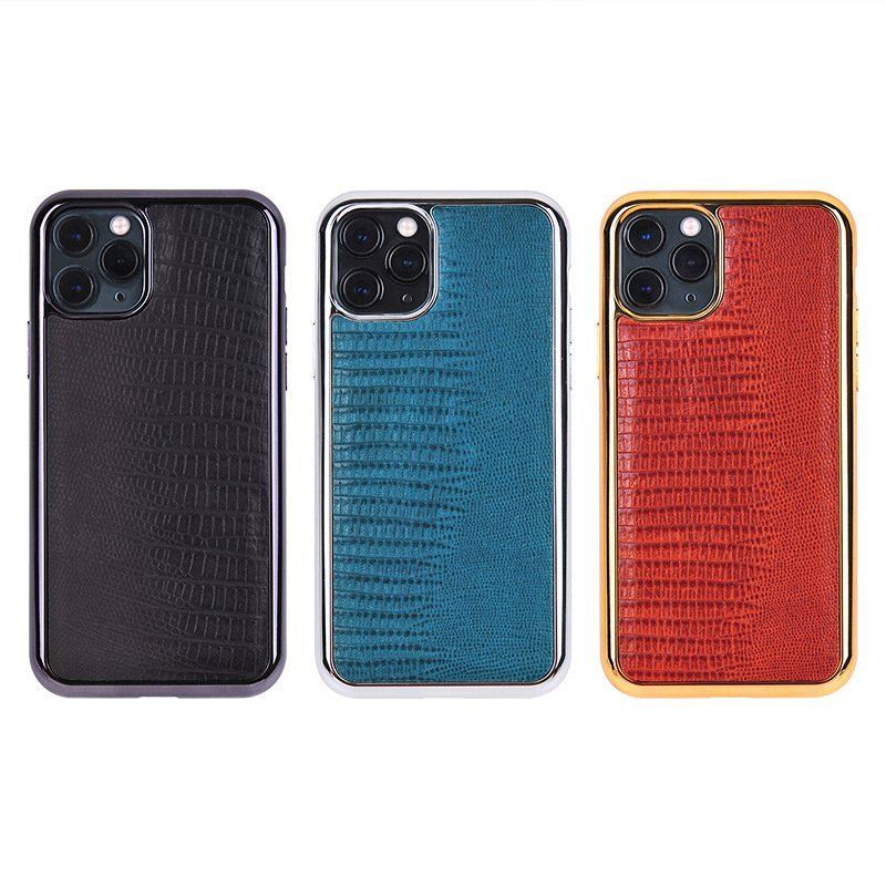 real leather iphone cases, lizard pattern, custom bulk, wholesale