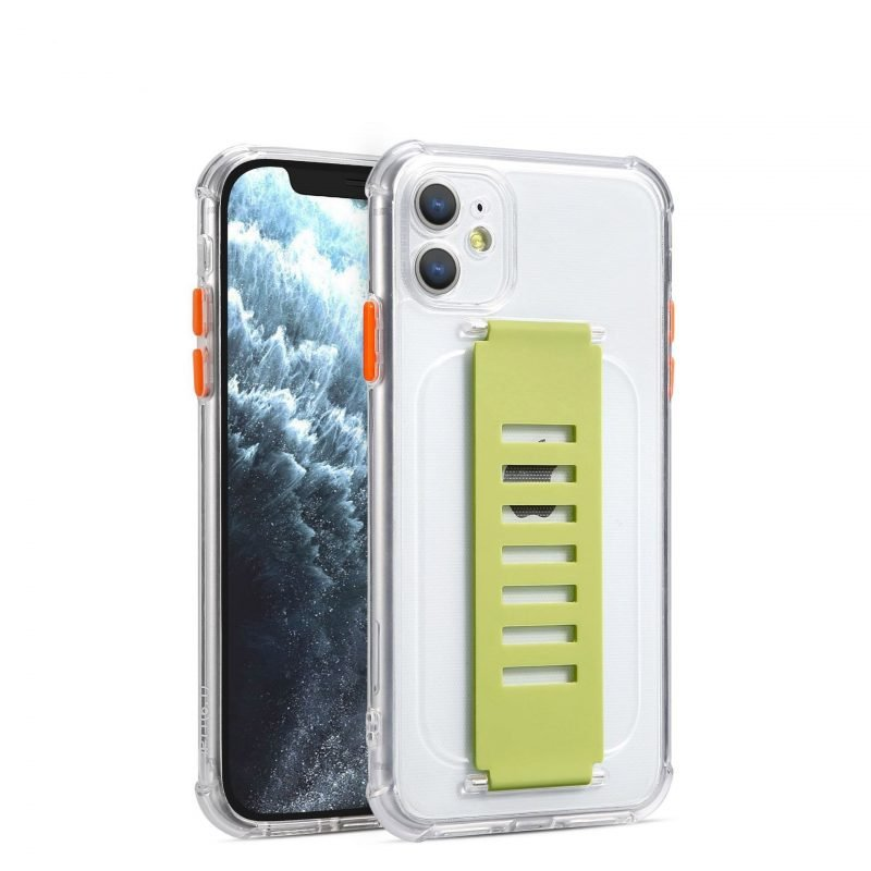ultra impact clear case with grip band holder - bulk wholesale supplier, uk