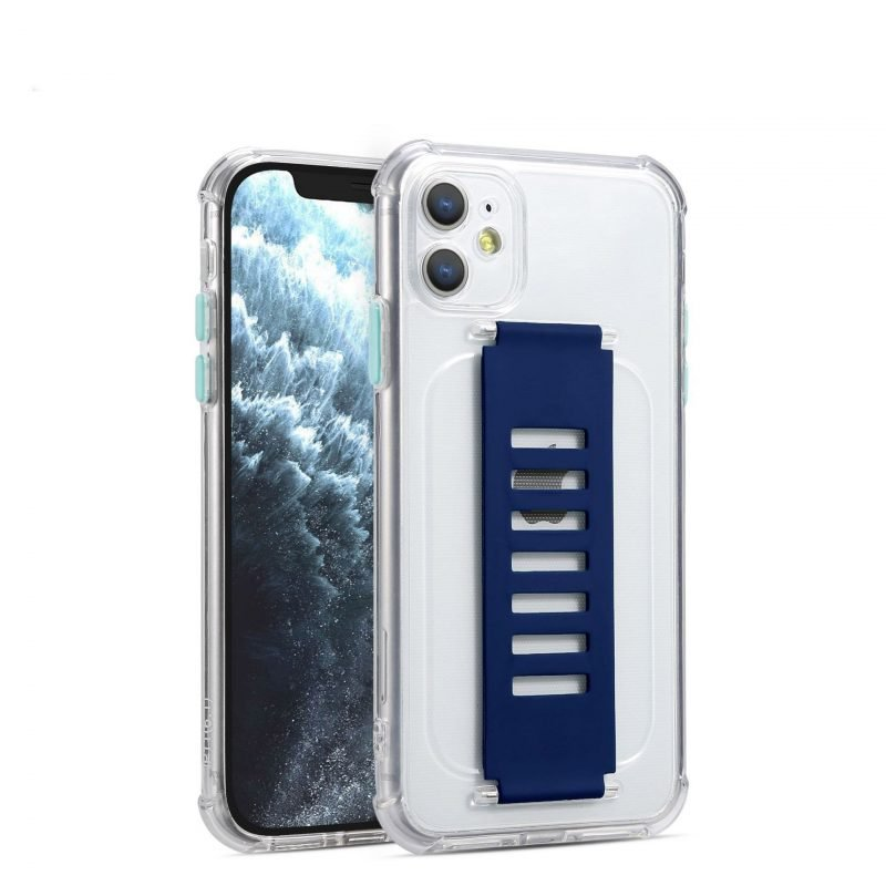 quality clear iphone cases with grip strap holder, bulk wholesale
