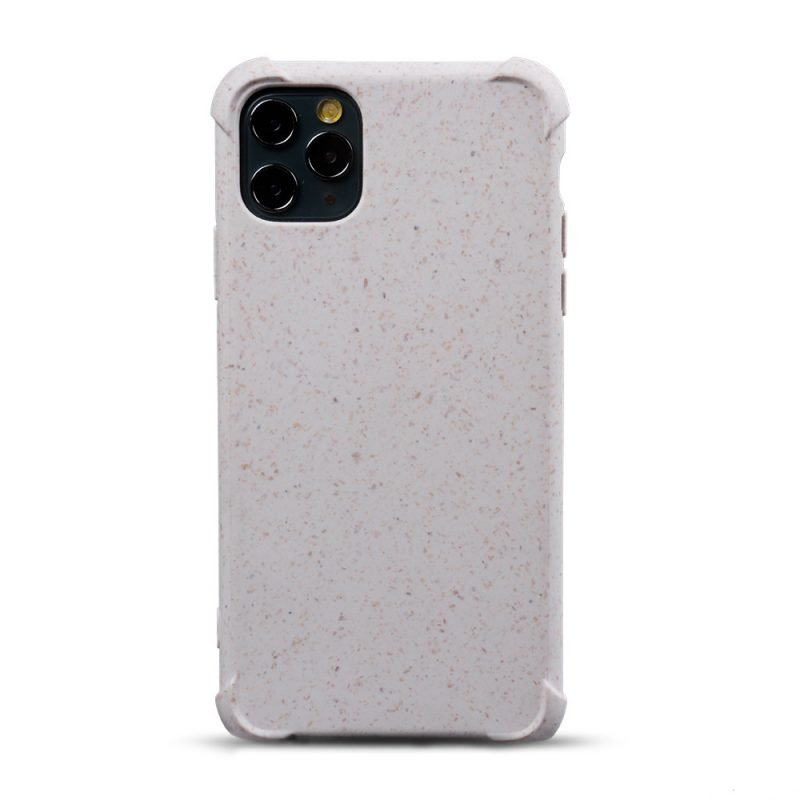 compostable iphone cases bulk wholesale - lovingcase - off white color- eco covers