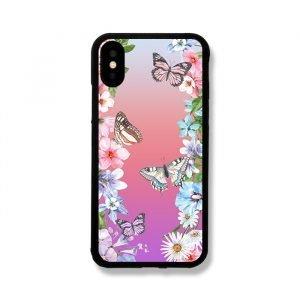 hot selling butterfly garden print iphone covers wholesale bulk, lovingcase