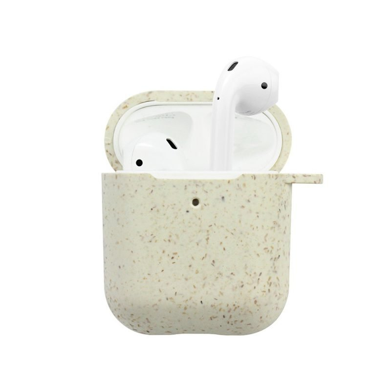 biodegradable airpods cases covers, wholesale lovingcase - ivory nude color