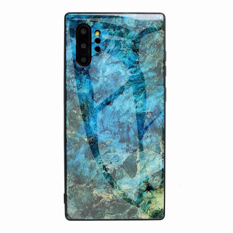 marble blue pattern hot phone covers for women - samsung galaxy, note 10 - 20 -a70- lovingcase
