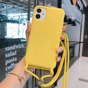wholesale silicone iphone case with lanyard - lovingcase