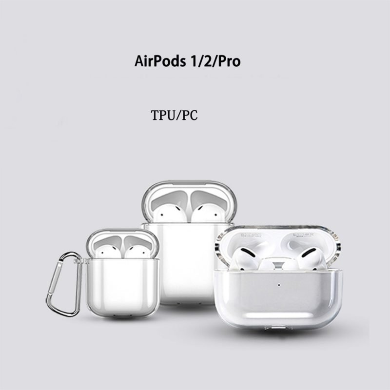 bulk buy blank clear airpods cases 1/2/ 3 , lovingcase