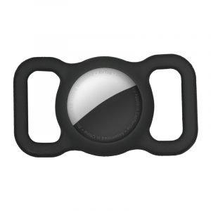 lovingcase bulk wholesale silicone airtag case holder for pet black
