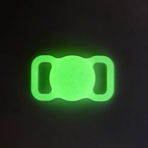 lovingcase bulk wholesale silicone airtag case holder for pets - glitterning in dark