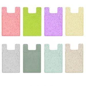 compostable phone case card holder for bulk wholesale custom, by lovingcase, custom colors