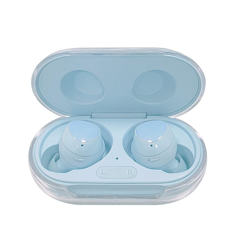 Lovingcase wholesale colorful clear samsung earbuds protective cases - crystal 2