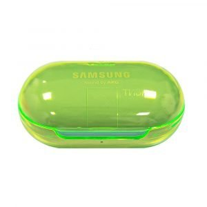 Lovingcase wholesale colorful clear samsung earbuds protective cases - green