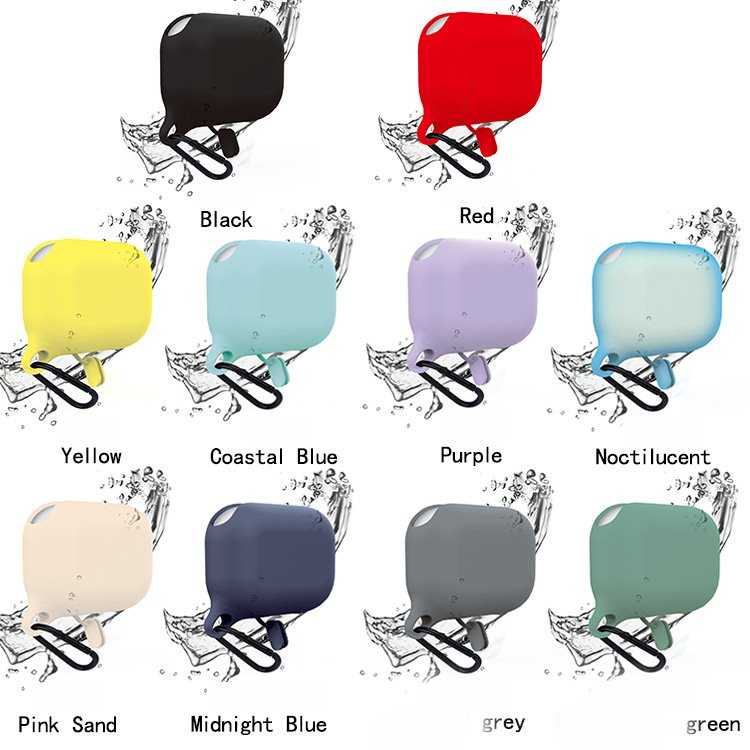 bulk lovingcase bulk sell airpods pro case silicone cover-waterproof- 10 colors