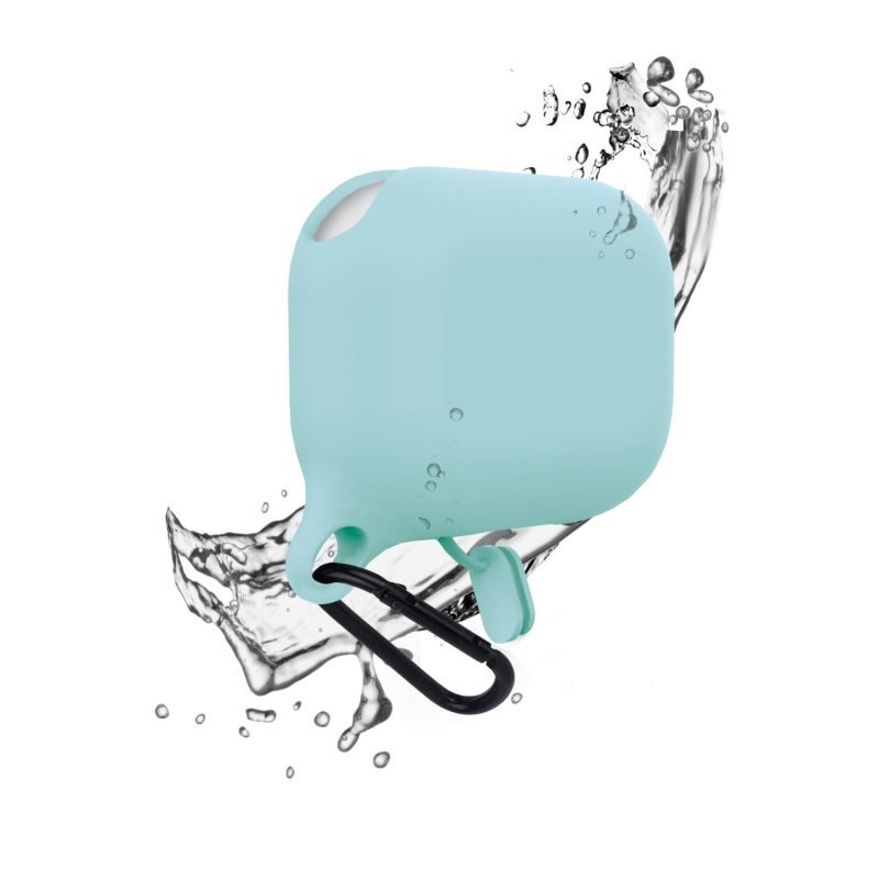 lovingcase bulk sell airpods pro case silicone cover-waterproof- baby blue