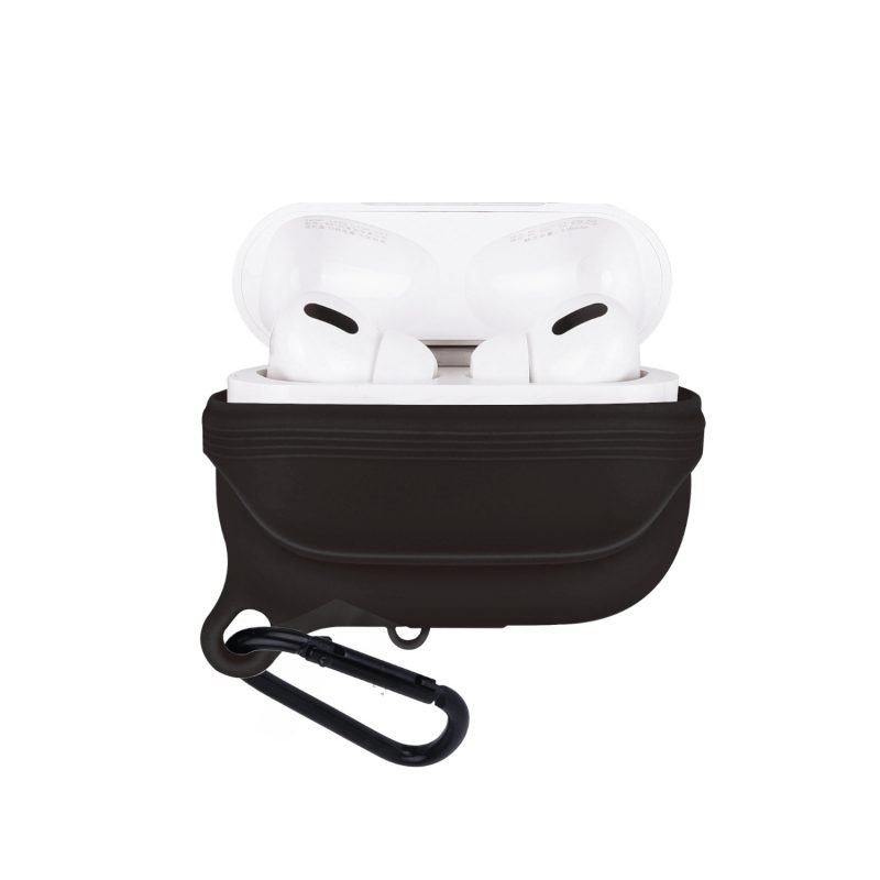 lovingcase bulk sell airpods pro case silicone cover-waterproof- black 2