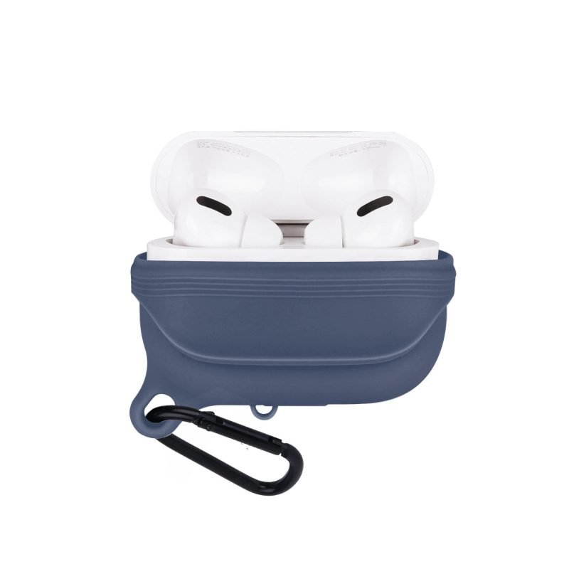 lovingcase bulk sell airpods pro case silicone cover-waterproof- blue 2