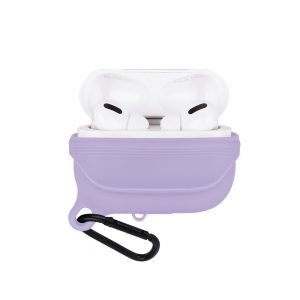 lovingcase bulk sell airpods pro case silicone cover-waterproof- purple 2