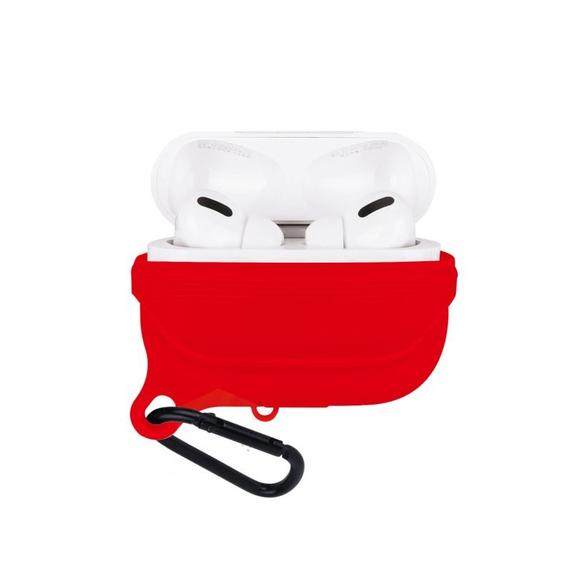 lovingcase bulk sell airpods pro case silicone cover-waterproof- red 2