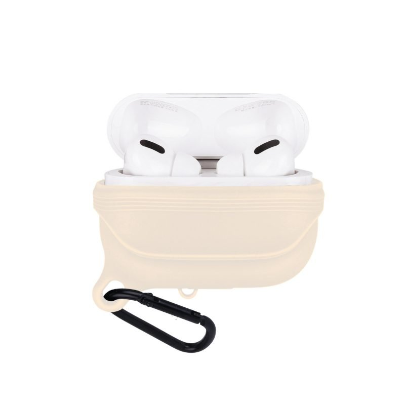 lovingcase bulk sell airpods pro case silicone cover-waterproof- sand pink 2
