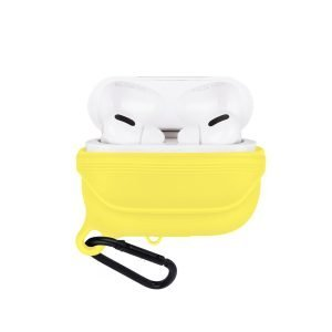 lovingcase bulk sell airpods pro case silicone cover-waterproof- yellow 2