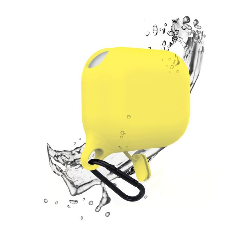 lovingcase bulk sell airpods pro case silicone cover-waterproof- yellow