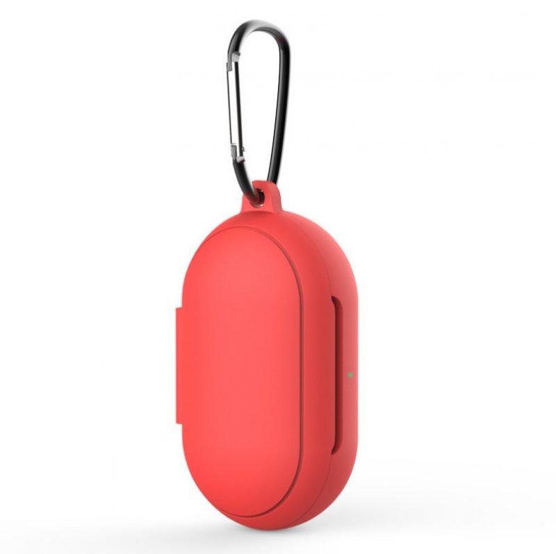 lovingcase bulk wholesale silicone samsung buds plus cases- red 2