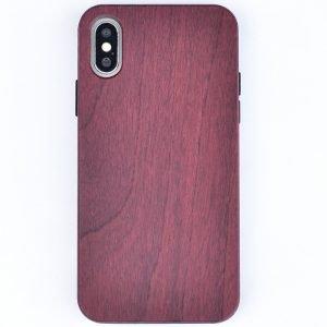 lovingcase wholesale eco friendly wood iphone case -purple heart-