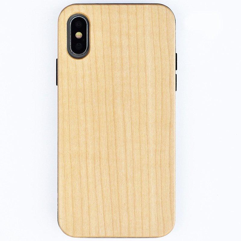 lovingcase wholesale eco friendly wood iphone case - white maple-