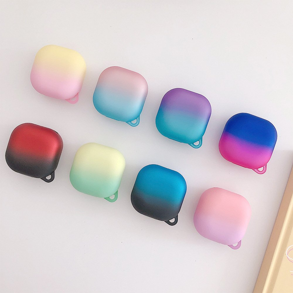 lovingcase wholesale samsung galaxy live buds cases- gradient rainbow 8 colors