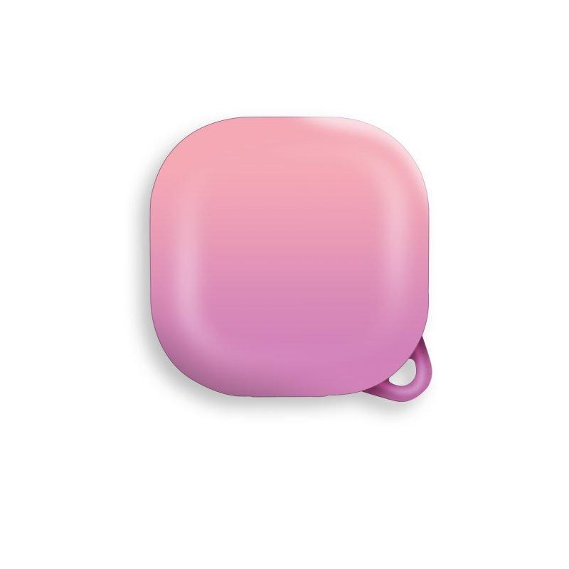 lovingcase wholesale samsung galaxy live buds cases- gradient rainbow - pink